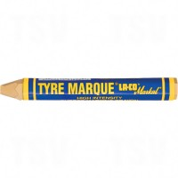 Tyre Marque® Paint Marker, Solid Stick, Yellow