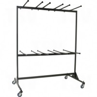 Double-Sided Folding Chair Caddy