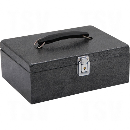 Cash Box with Latch Lock