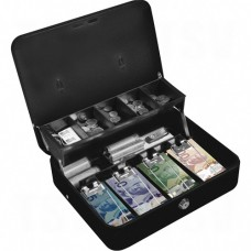 Tiered-Tray Deluxe Cash Box