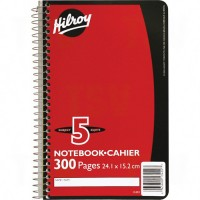 5 Subject Spiral Notebook