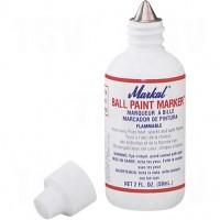 Ball Paint Marker® -50° to 150°F, Liquid, White