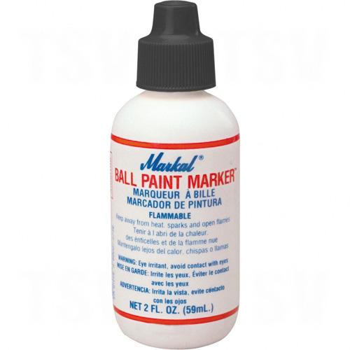 Ball Paint Marker® -50° to 150°F, Liquid, Black