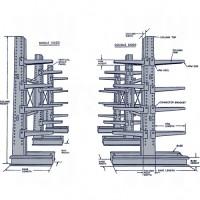 Heavy-Duty Adjustable Cantilever Racking
