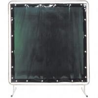 Welding Screen and Frame, Green, 6' x 8'