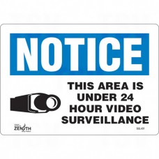 """24 Hour Surveillance"" Sign"