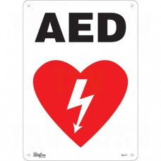"""AED"" Pictogram Sign"