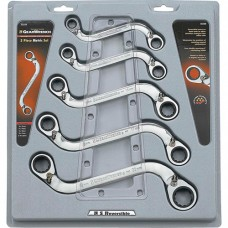 """S"" Reversible Wrench Set - 5 Pieces"