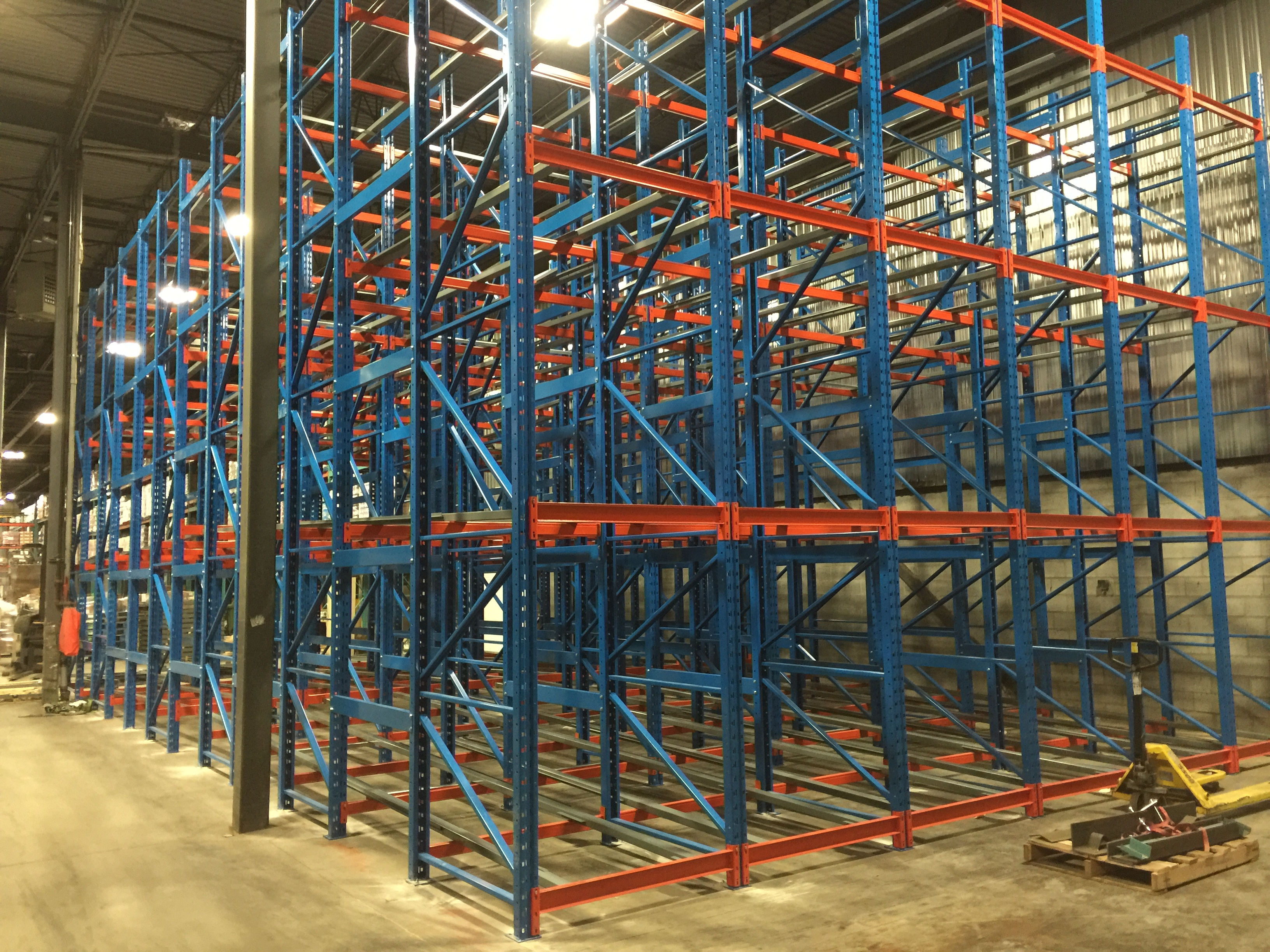Push Back Racking: The Solution for Your Company