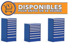 Receive your heavy-duty cabinets in only 3 to 4 days!